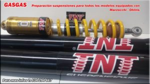 gasgas suspensiones ohlins