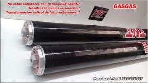 gas gas suspension horquilla sachs