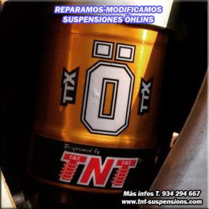 ohlins ttx amortiguador motocross enduro
