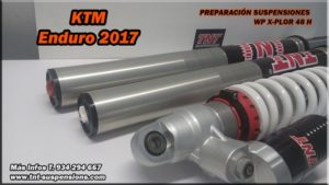 ktm suspensiones xplor enduro