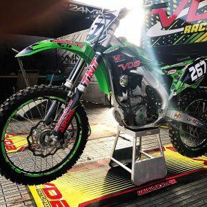 preparaciones para suspensiones de motocross