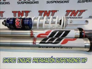 sherco suspensiones enduro