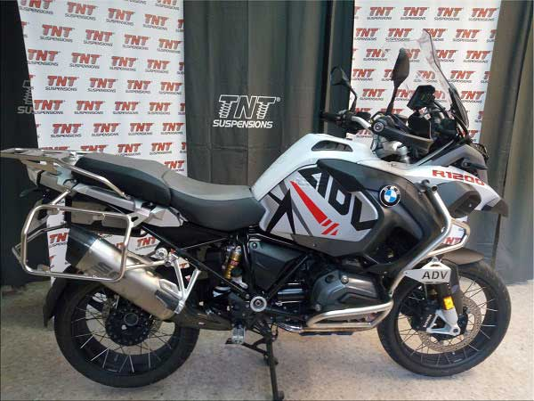 bmw r1200gs suspensiones modificadas por tnt