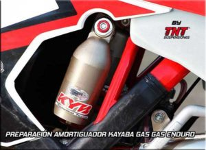 gas gas suspension amortiguador kayaba enduro
