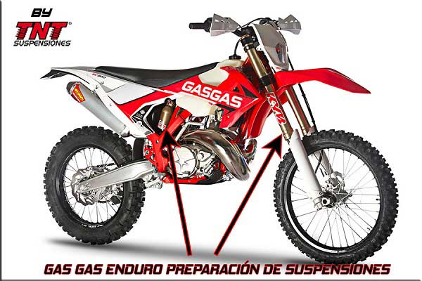 GAS GAS SUSPENSIONES