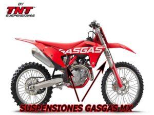 suspensiones gasgas mc motocross mejoradas tnt