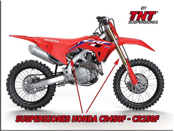 honda cr450f cr250f suspensiones showa tnt