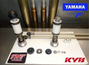 Preparación horquilla kayaba Yamaha WR 250F WR 450F