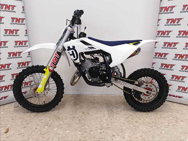 husqvarna tc 50 suspensiones tnt