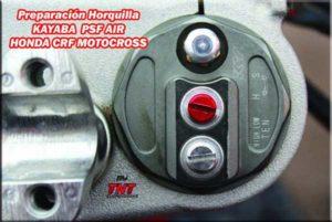 kayaba psf 2 horquilla aire honda motocross
