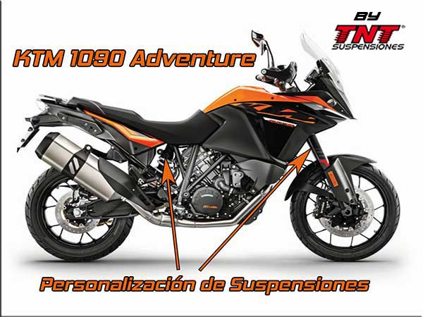 suspensiones ktm 1090 adventure