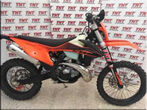 ktm enduro 2020 con suspensiones racing