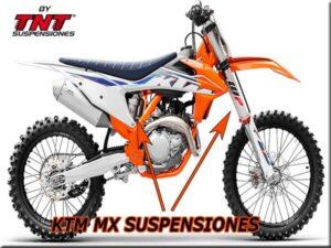 ktm motocross 2022 horquilla aire