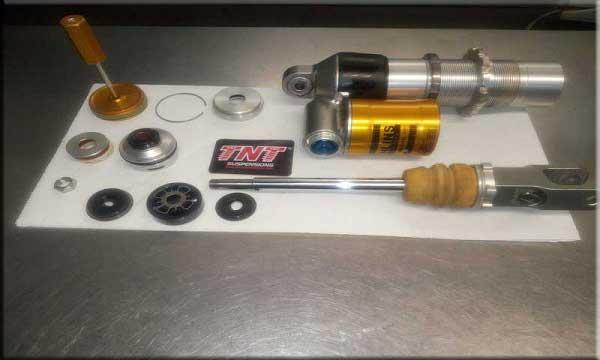 reparar suspensiones amortiguadores para motos