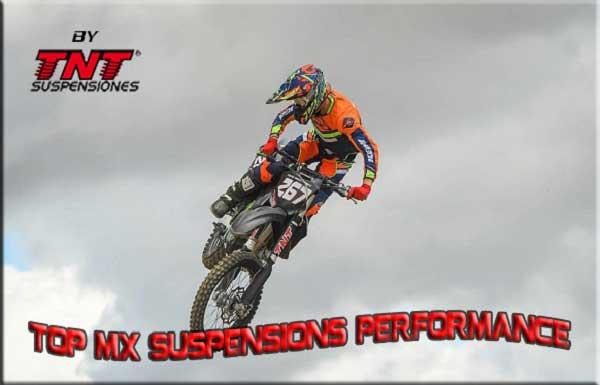 Motocross preparación de suspensiones