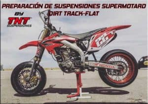 suspensiones supermotard dirt track
