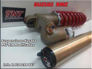 suzuki rmz 250 mejorar kayaba psf