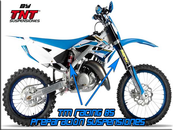 tm racing 85 suspensiones tnt