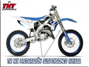 tm motocross preparar suspensiones tnt