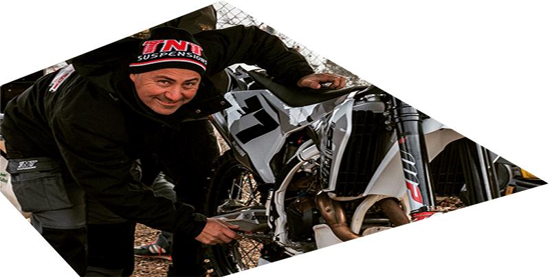 suspensiones empresa competición moto