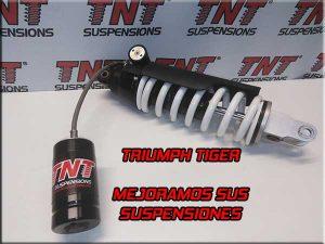triumph tiger problema suspensión amortiguador