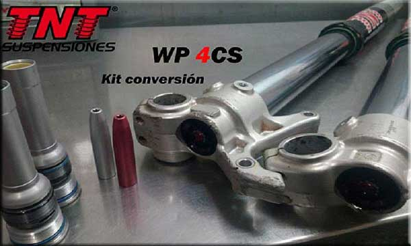 kit horquilla suspensiones amortiguadores para motos