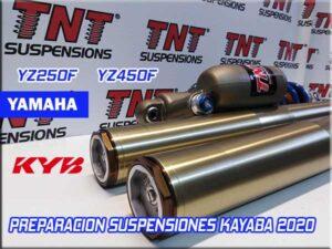 preparación suspensiones kayaba yz250f yz450f