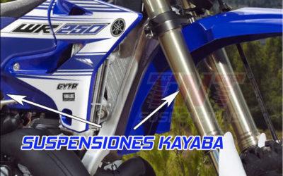 Yamaha WR250F y WR450F