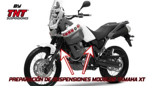 Yamaha Xt660 Suspensiones